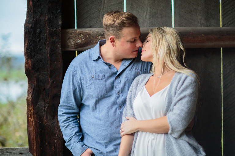 Vancouver Engagement Photo and Stewart Farmhouse