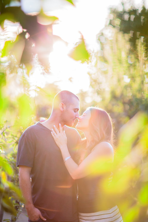 Vancouver engagement in orchard white rock bc